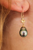 SISTERS NOT TWINS TAHITIAN PEARL EARRINGS
