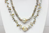 keshi pearl arrows edge necklace