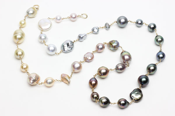 something special ombre pearl necklace