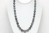 banded tahitian pearl necklace