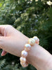kasumi and south sea golden pearl bracelet
