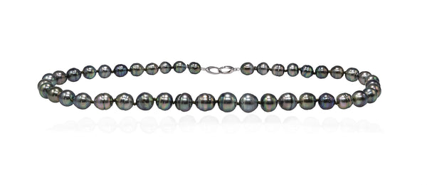 Sweet Circles Tahitian pearl necklace