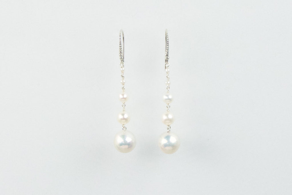 pageantry and elegance pearl drop earrings
