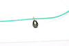 superior quality carved Tahitian pearl pendant