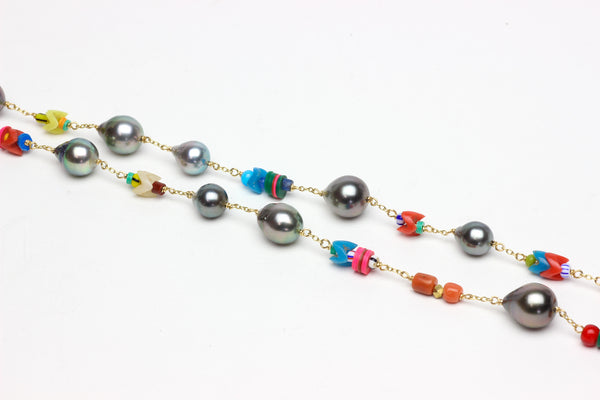 new memories Tahitian pearl necklace
