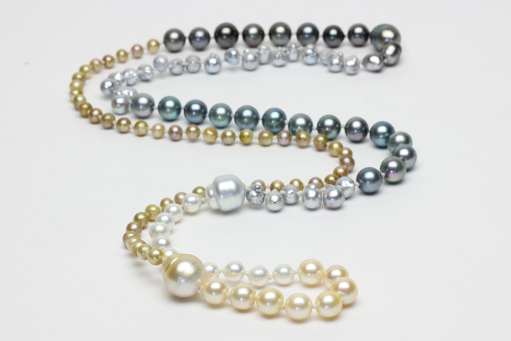 the endless waves pearl necklace