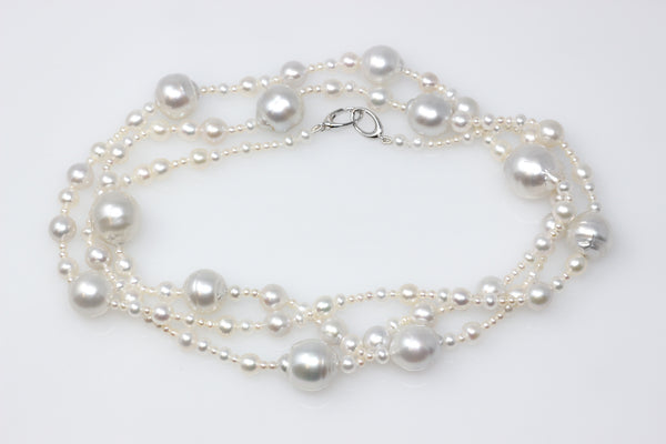 avalon south sea and pearl waterfall necklace