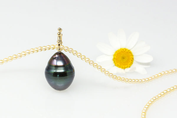 big and beautiful Tahitian pearl pendant