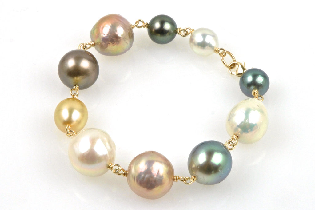 all you need pearl bracelet