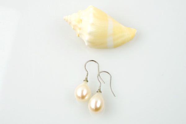 perfect drop pearl earrings