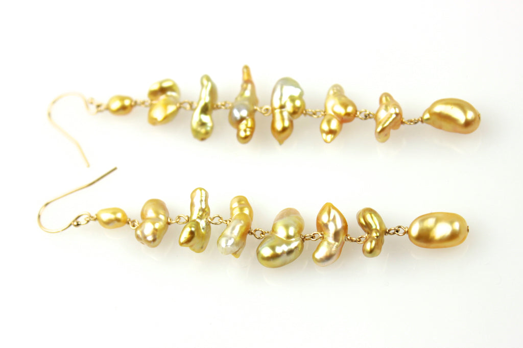 can't stop south sea cascade earrings