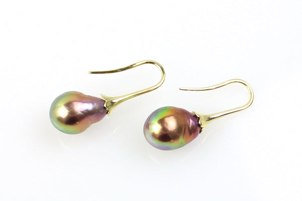 fruiting pearl earrings