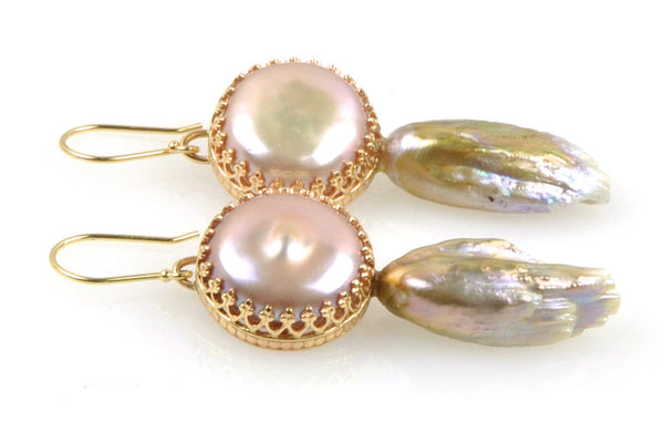 lilian pearl earrings