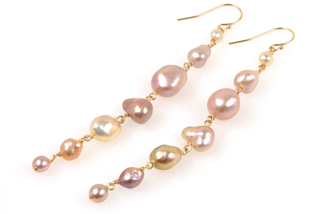japan kasumi keshi pearl earrings