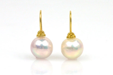 devi iridescent pearl earrings