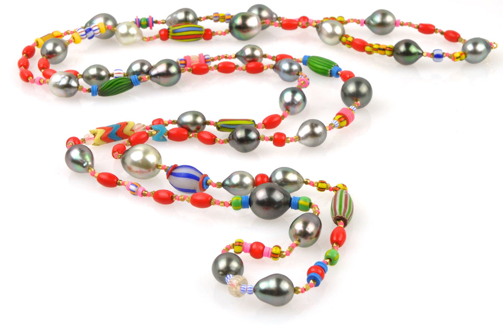 fiesta pearl necklace