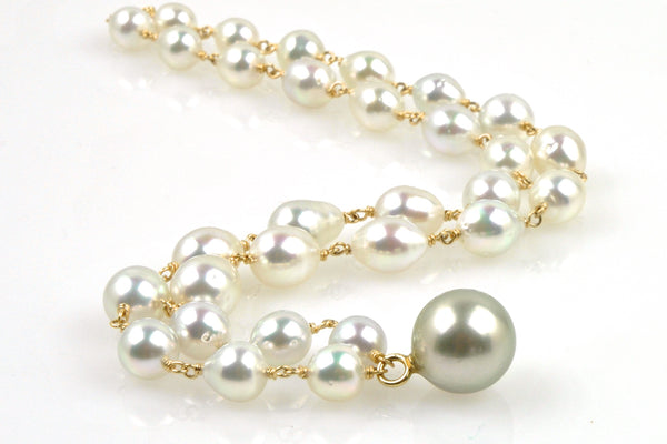vivienne south sea and tahitian pearl necklace