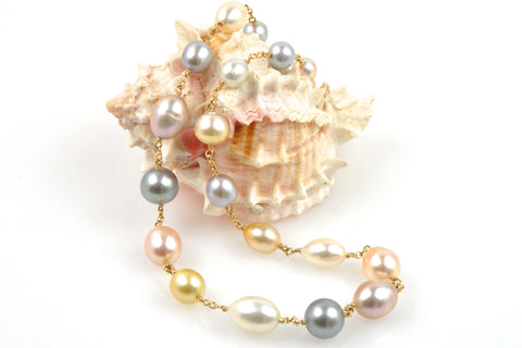 garden glory pearl necklace