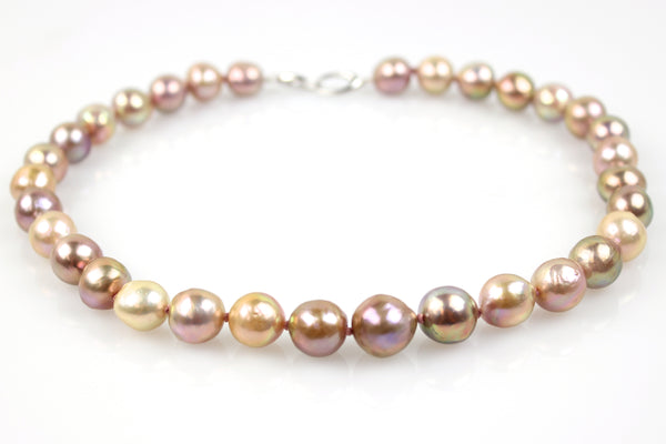 spring blossom pearl necklace
