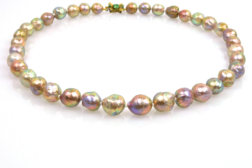 japan kasumi pearl 2018 harvest necklace