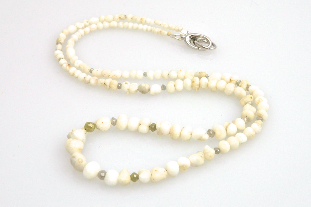 natural wild oyster pearl necklace