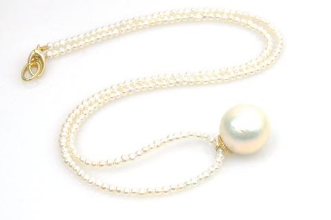 dame pearl necklace