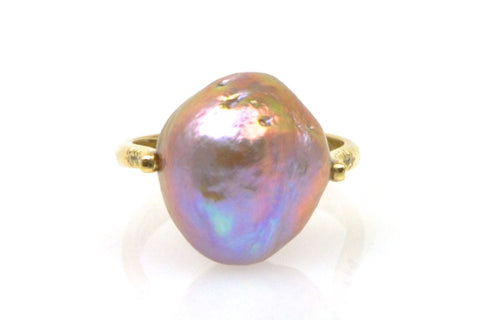 nugget japan kasumi pearl and diamond ring