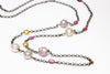 japan kasumi heritage necklace with pink tourmaline and vermeil