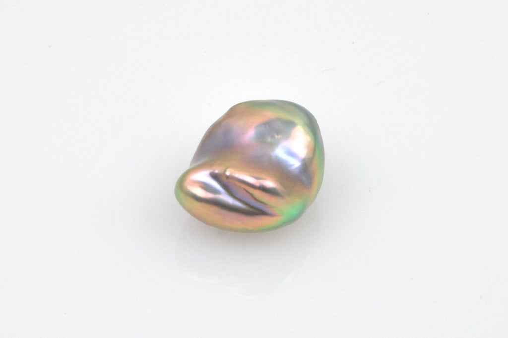 baroque metallic rainbow pearl