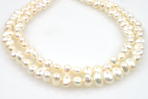 2 strand lot of large potato pearls