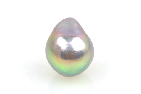 dyed metallic pearl drop