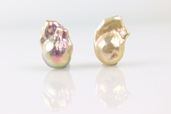 champagne flameball pearl pair