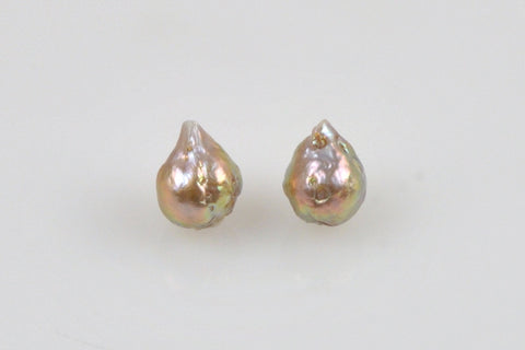 pear shaped baroque teardrop japan kasumi pearl set