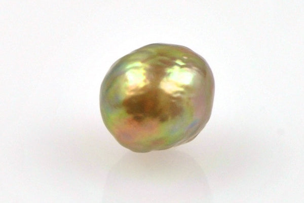 one-sided golden green japan kasumi pearl
