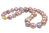 pink medley of chinese fresh water ripple pearls
