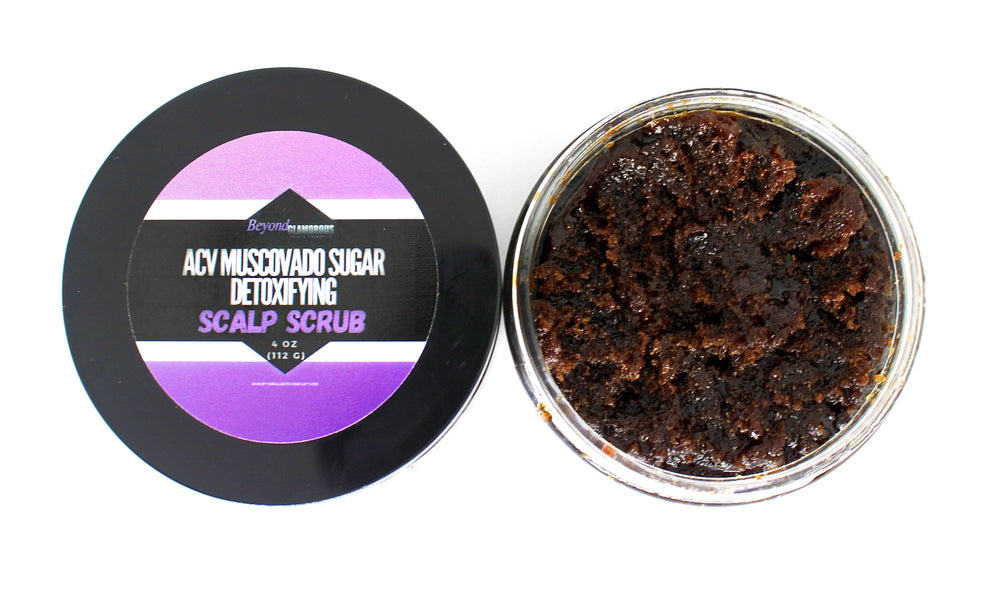 Load image into Gallery viewer, ACV Muscovado Sugar Detoxifying Scalp Scrub