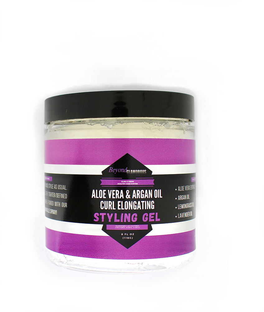 Aloe Vera & Argan Oil Curl Elongating Styling Gel