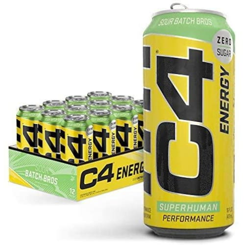 C4 ORIGINAL CARBONATED CANS - Pre Workout