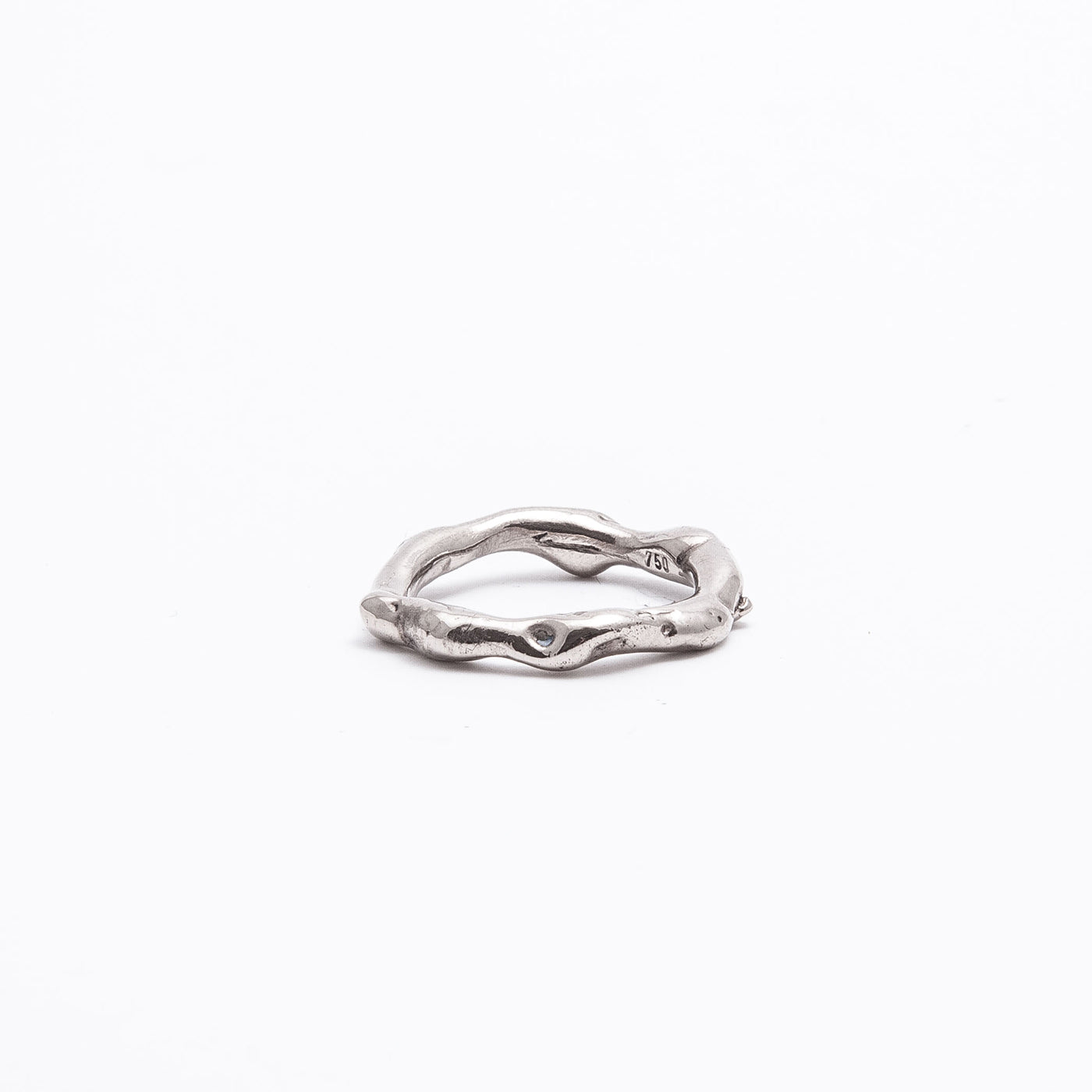 wedding ring aurae white gold timeless product view innan jewellery