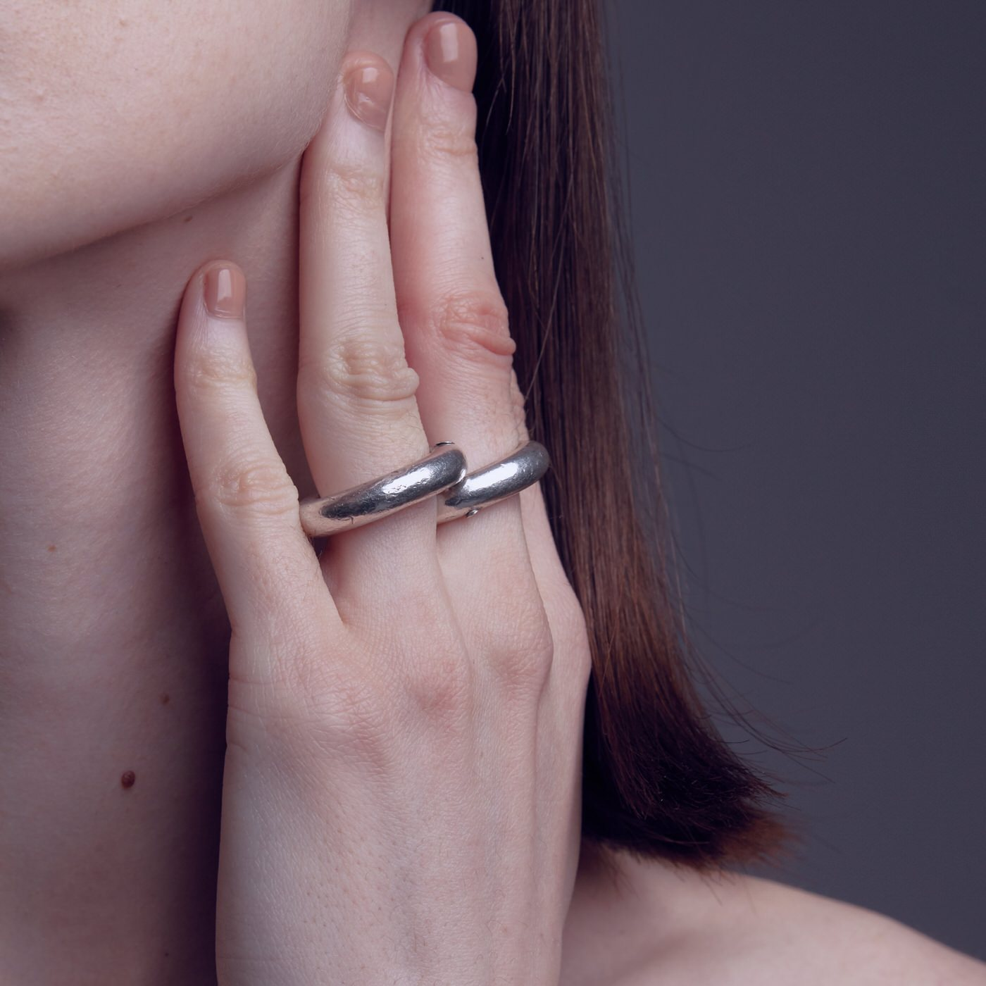 ring bold mechanic silver product view innan jewellery
