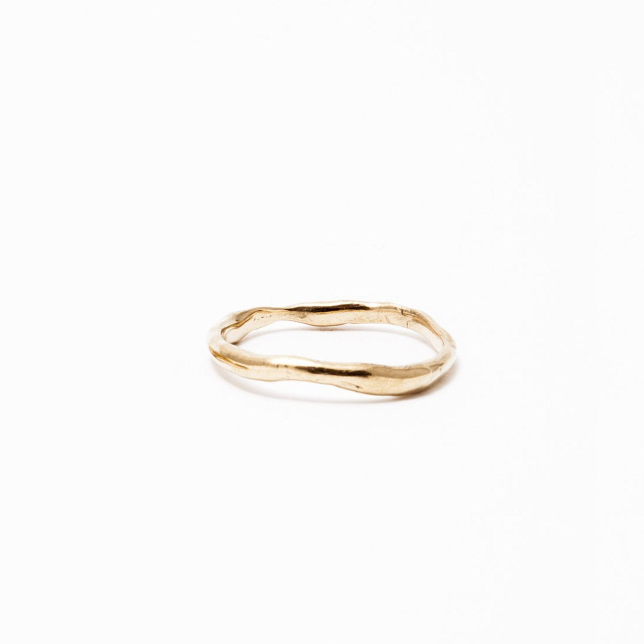 wedding ring erato gold product view innan jewellery