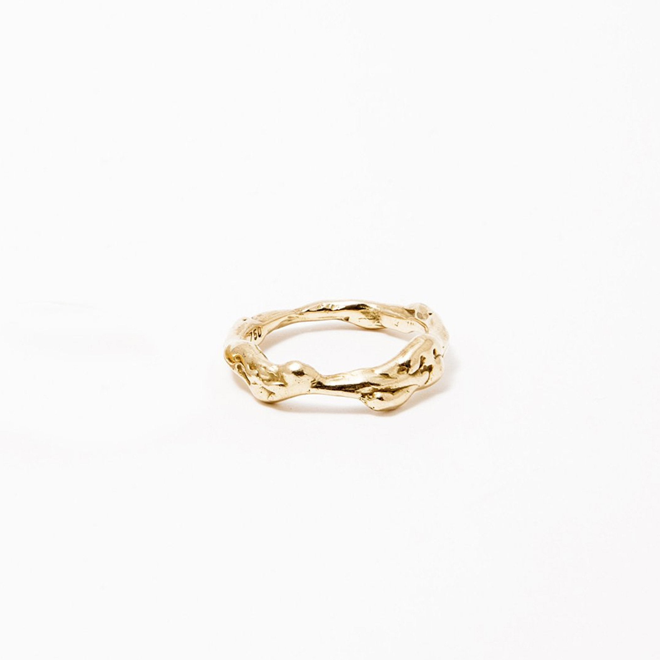 wedding ring haliae gold product view innan jewellery