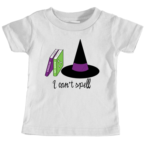 Infant Can't Spell T-Shirt