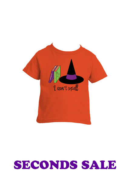 FINAL SALE - Sample Can't Spell Toddler T-Shirt
