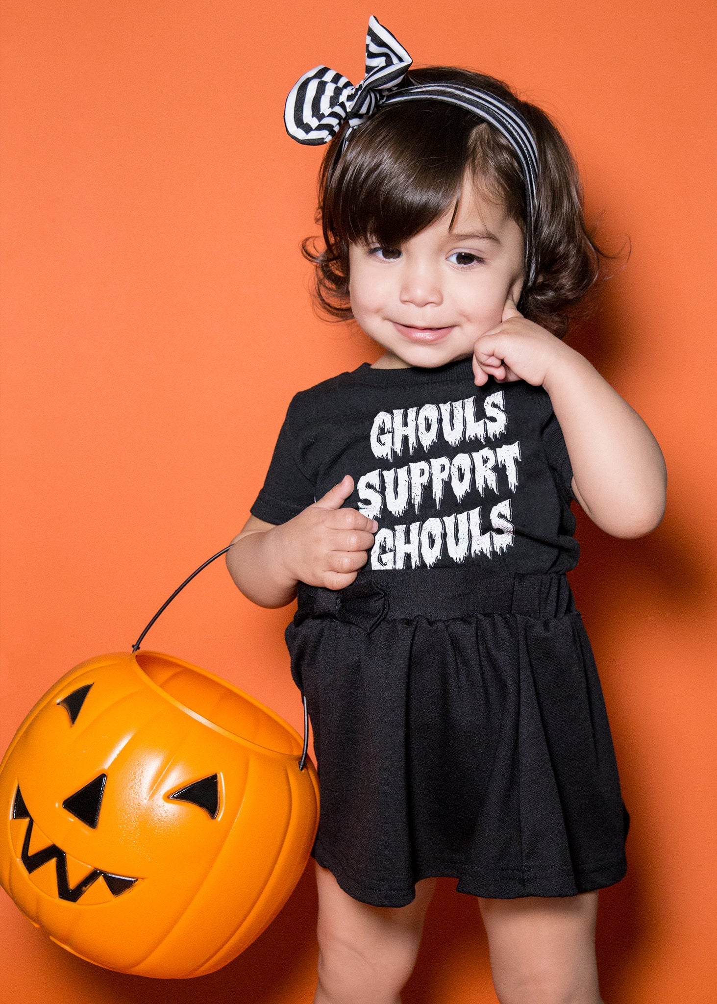 Toddler Ghouls Support Ghouls T-Shirt