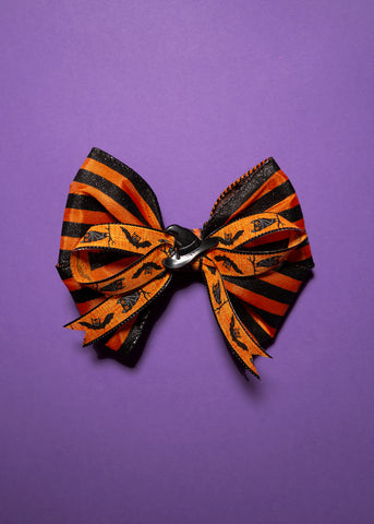 Hair Bow - Witch Hat