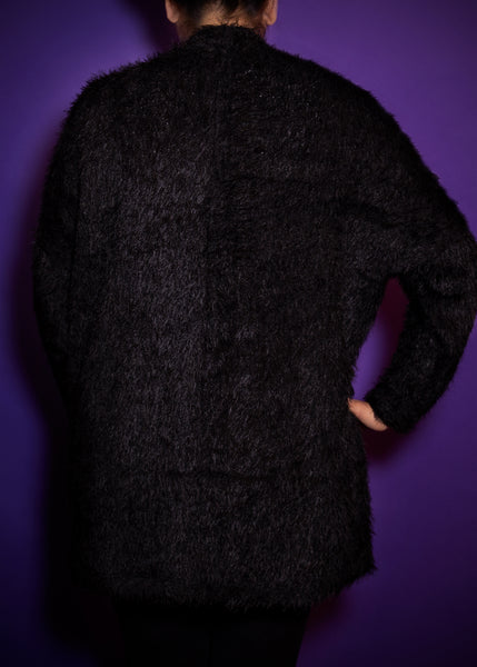 Monster Cardigan in Black