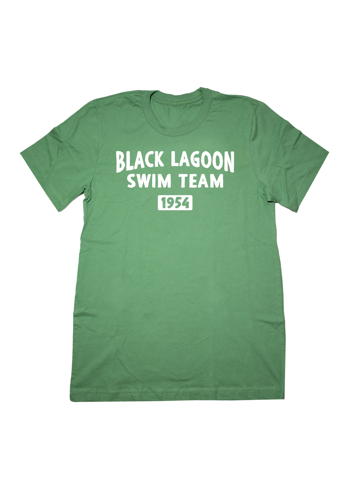 PRE-ORDER Black Lagoon Swim Team Unisex Adult T-Shirt in Green