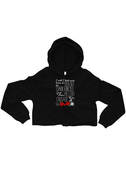"""Modern Woman"" Ladies Crop Hoodie"