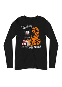 "Season's Screamings ""Make It Halloween"" Unisex Long Sleeve Shirt (PRE-ORDER)"